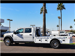 2017 F-550 Crew Cab DRW 4x4, Platform Body #17P711 - photo 4