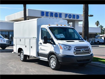 2017 Transit 350, Reading Aluminum CSV Service Utility Van #17P722 - photo 8