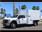 2018 F-550 Super Cab DRW 4x4,  Stahl Chipper Body #18F043 - photo 1