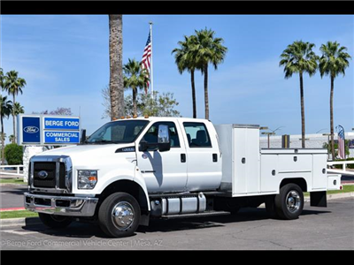 2018 F-650 Crew Cab DRW,  Scelzi Contour Service Welder Body #18P060 - photo 1