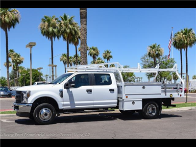 2018 F-350 Crew Cab DRW 4x4,  Royal Contractor Bodies Contractor Body #18P150 - photo 3