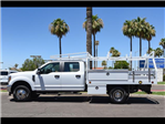 2018 F-350 Crew Cab DRW 4x4,  Royal Contractor Bodies Contractor Body #18P150 - photo 4