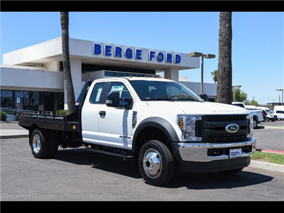 2018 F-450 Super Cab DRW 4x4,  Hillsboro GII Steel Platform Body #18P192 - photo 13