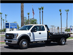 2018 F-450 Super Cab DRW 4x4,  Hillsboro GII Steel Platform Body #18P192 - photo 1