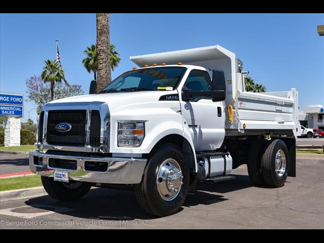 2018 F-650 Regular Cab DRW 4x2,  Paramount Dump Body #18P218 - photo 9