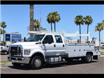 2018 F-650 Crew Cab DRW 4x2,  Scelzi Combo Body #18P257 - photo 1