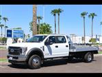 2018 F-450 Crew Cab DRW 4x4,  Hillsboro 3000 Series Aluminum Platform Body #18P260 - photo 1