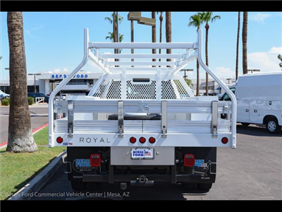 2018 F-450 Crew Cab DRW 4x4,  Royal Contractor Bodies Contractor Body #18P294 - photo 10
