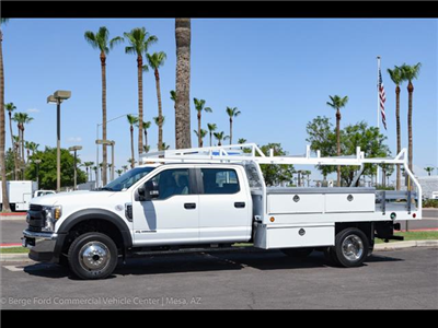 2018 F-450 Crew Cab DRW 4x4,  Royal Contractor Bodies Contractor Body #18P294 - photo 3