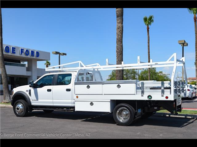 2018 F-450 Crew Cab DRW 4x4,  Royal Contractor Bodies Contractor Body #18P294 - photo 5