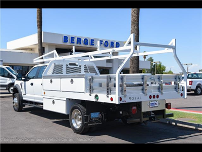 2018 F-450 Crew Cab DRW 4x4,  Royal Contractor Bodies Contractor Body #18P294 - photo 2