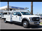 2018 F-450 Crew Cab DRW 4x4,  Royal Contractor Bodies Contractor Body #18P294 - photo 16