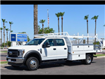2018 F-450 Crew Cab DRW 4x4,  Royal Contractor Bodies Contractor Body #18P294 - photo 1