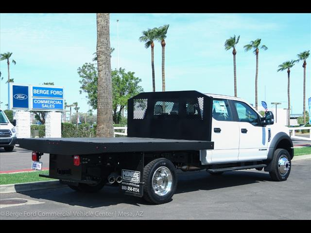 2018 F-450 Crew Cab DRW 4x4,  Monroe Work-A-Hauler II Platform Body #18P327 - photo 6