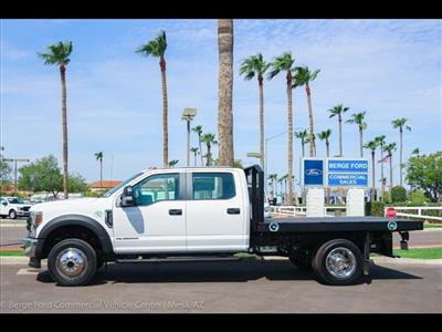2018 F-450 Crew Cab DRW 4x4,  Monroe Work-A-Hauler II Platform Body #18P327 - photo 3