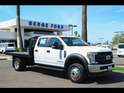 2018 F-450 Crew Cab DRW 4x4,  Monroe Work-A-Hauler II Platform Body #18P327 - photo 8