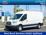 2018 Transit 250 Med Roof 4x2,  Sortimo Upfitted Cargo Van #18P362 - photo 1