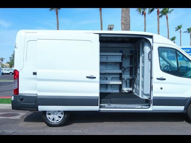 2018 Transit 250 Med Roof 4x2,  Sortimo ProPaxx HVAC and Plumbing Upfitted Cargo Van #18P505 - photo 11