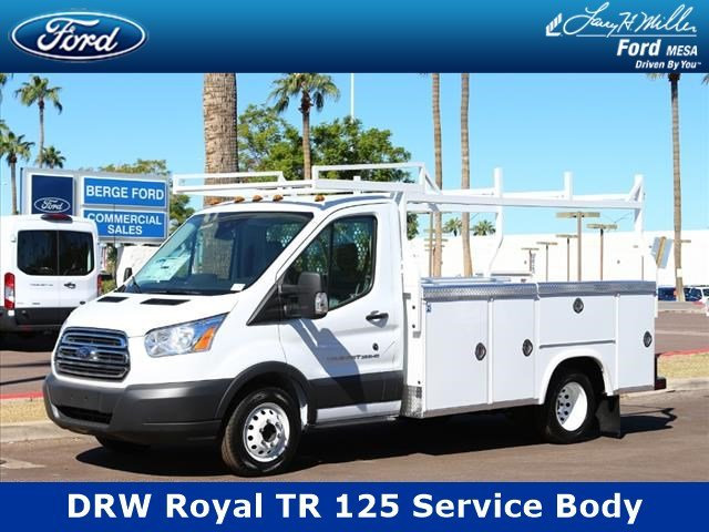 2018 Transit 350 HD DRW 4x2,  Royal TR 125 Transit Service Body #18P519 - photo 1