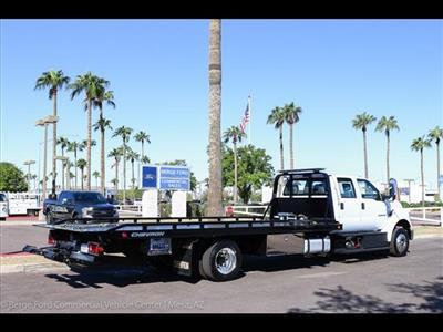 2019 F-650 Crew Cab DRW 4x2, Miller Industries Chevron Rollback Body #19F002 - photo 10