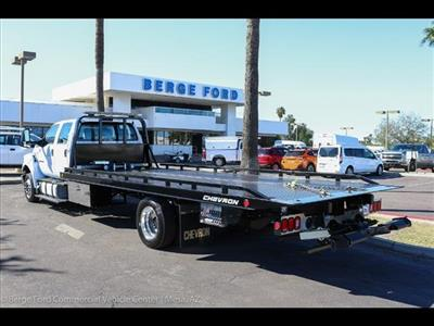 2019 F-650 Crew Cab DRW 4x2,  Chevron 12 Series LCG Rollback Body #19F002 - photo 2