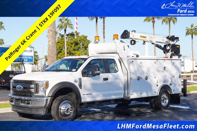 2019 Ford F-550 Super Cab DRW 4x4, Milron Service Body #19F097 - photo 1