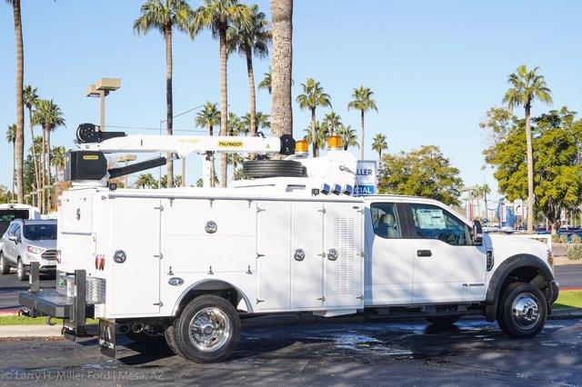 2019 F-550 Super Cab DRW 4x4, Milron Aluminum Service Body #19F097 - photo 12