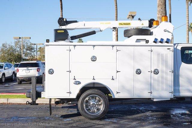 2019 F-550 Super Cab DRW 4x4, Milron Aluminum Service Body #19F097 - photo 14