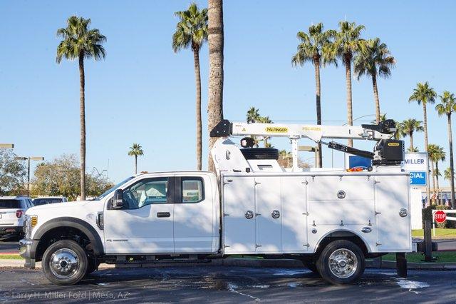 2019 F-550 Super Cab DRW 4x4, Milron Aluminum Service Body #19F097 - photo 5