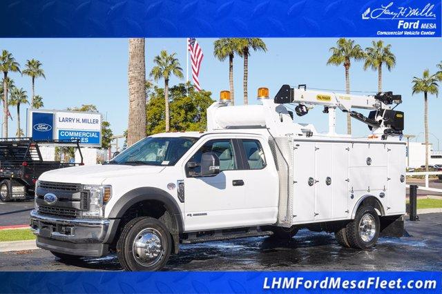2019 Ford F-550 Super Cab DRW 4x4, Milron Crane Body #19F100 - photo 1