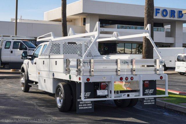 2019 F-450 Super Cab DRW 4x2, Scelzi CTFB Contractor Body #19F500 - photo 2