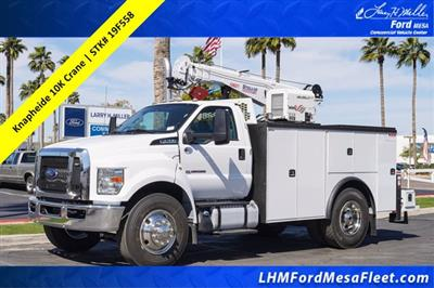 2019 Ford F-750 Regular Cab DRW 4x2, Knapheide KMT Crane Body #19F558 - photo 1
