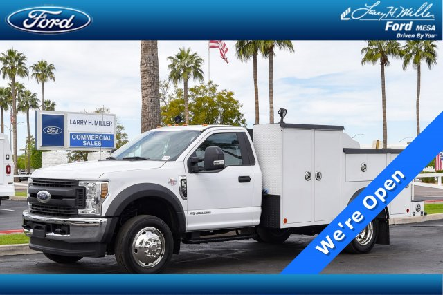 2019 F-550 Regular Cab DRW 4x4, Reading Service Body #19F568 - photo 1
