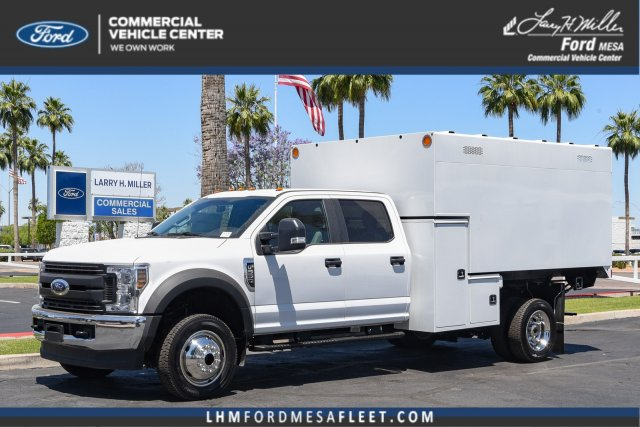 2019 Ford F-550 Crew Cab DRW 4x4, Knapheide Chipper Body #19F579 - photo 1