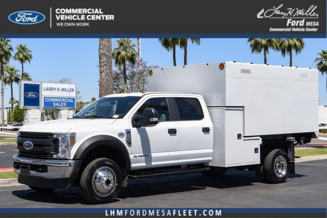 2019 Ford F-550 Crew Cab DRW 4x4, Knapheide Chipper Body #19F581 - photo 1