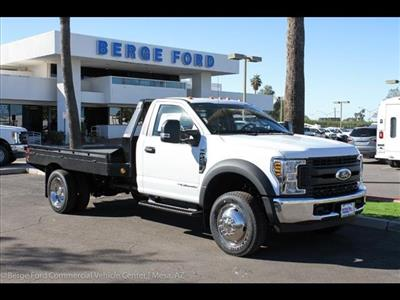 2019 F-450 Regular Cab DRW 4x2, Hillsboro GII Steel Platform Body #19P015 - photo 10