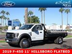 2019 F-450 Regular Cab DRW 4x2, Hillsboro GII Steel Platform Body #19P015 - photo 1