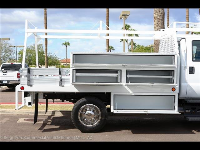 2019 F-650 Crew Cab DRW 4x2,  Scelzi Contractor Body #19P042 - photo 10