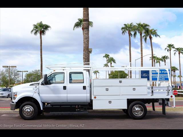 2019 F-650 Crew Cab DRW 4x2,  Scelzi Contractor Body #19P042 - photo 3