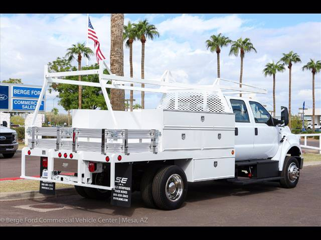 2019 F-650 Crew Cab DRW 4x2,  Scelzi Contractor Body #19P042 - photo 8