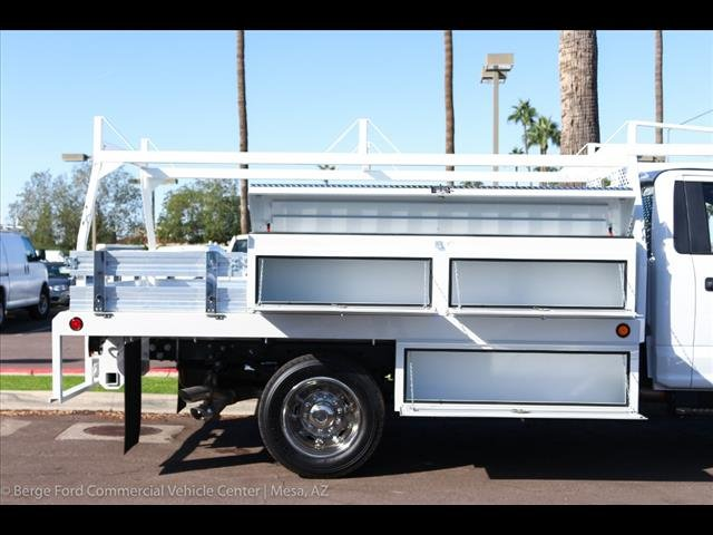 2019 F-550 Regular Cab DRW 4x4,  Scelzi Contractor Body #19P064 - photo 10