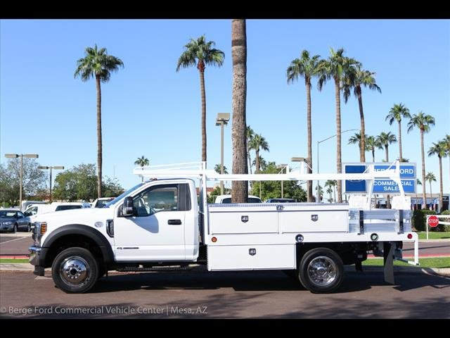 2019 F-550 Regular Cab DRW 4x4,  Scelzi Contractor Body #19P064 - photo 3