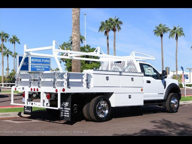 2019 F-550 Regular Cab DRW 4x4,  Scelzi Contractor Body #19P064 - photo 8