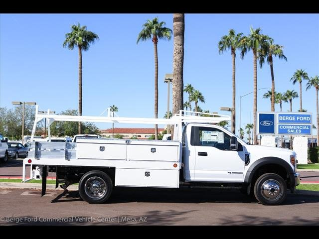 2019 F-550 Regular Cab DRW 4x4,  Scelzi Contractor Body #19P064 - photo 9