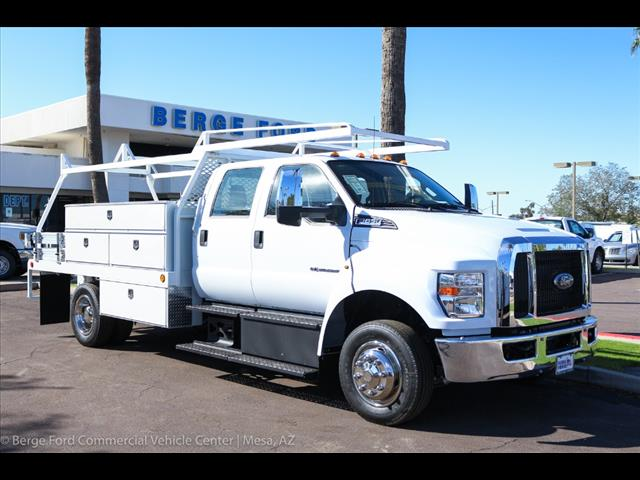 2019 F-650 Crew Cab DRW 4x2,  Scelzi Contractor Body #19P065 - photo 10