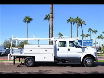 2019 F-650 Crew Cab DRW 4x2,  Scelzi CTFB Contractor Body #19P065 - photo 8