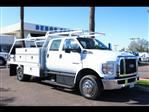 2019 F-650 Crew Cab DRW 4x2,  Scelzi CTFB Contractor Body #19P065 - photo 10