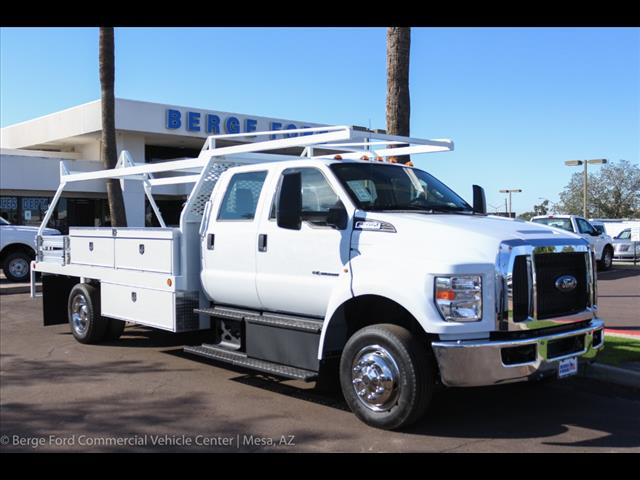 2019 F-650 Crew Cab DRW 4x2,  Scelzi Contractor Body #19P100 - photo 10