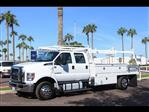 2019 F-650 Crew Cab DRW 4x2,  Scelzi Contractor Body #19P100 - photo 1