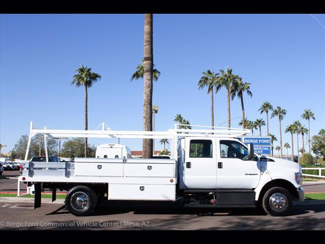 2019 F-650 Crew Cab DRW 4x2,  Scelzi Contractor Body #19P101 - photo 9